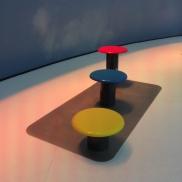 "2015 - Tabourets KOLO pour l'exposition ""Composites for Better Living by JEC"""