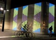 Oeuvre urbaine - Buren