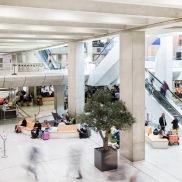 2015 - Gare SNCF CDG - aménagement de l'espace attente - crédit : Yann AUDIC / AREP