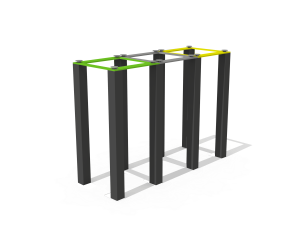 Corbeille de tri sélectif Kubic®