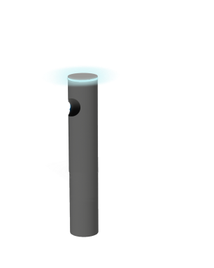 Potelet avec led intégrée KOLO®